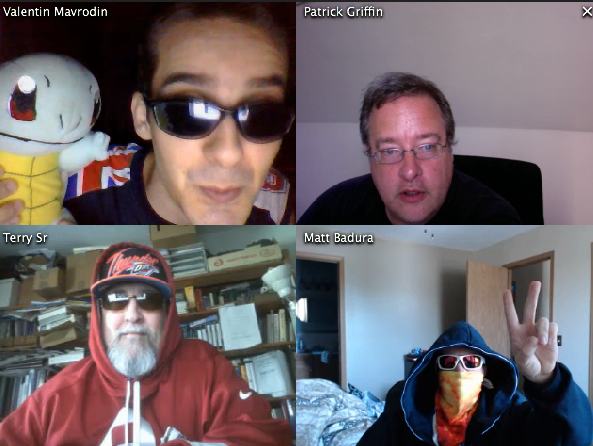 Valentin Mavrodin Hanging Around Spreecast Matt Badura in disguise