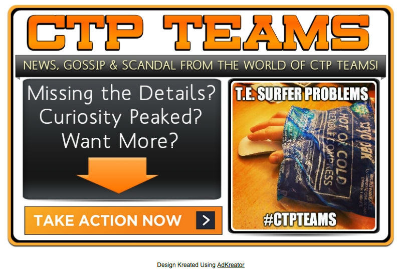 CTP Teams Rhonda splash page
