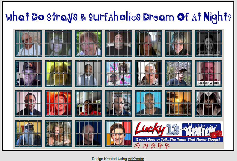 Lucky 13 dream splash page