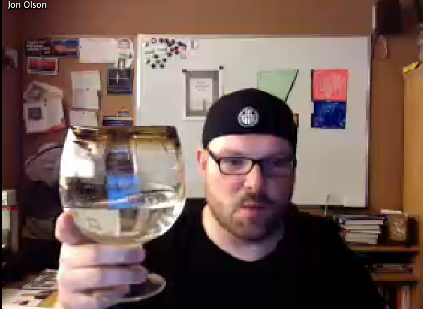 Jon Takes A Drink On Impromptu TE Live