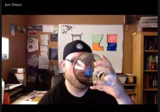 Fishbowl TELive: Oh what a big glass you have...