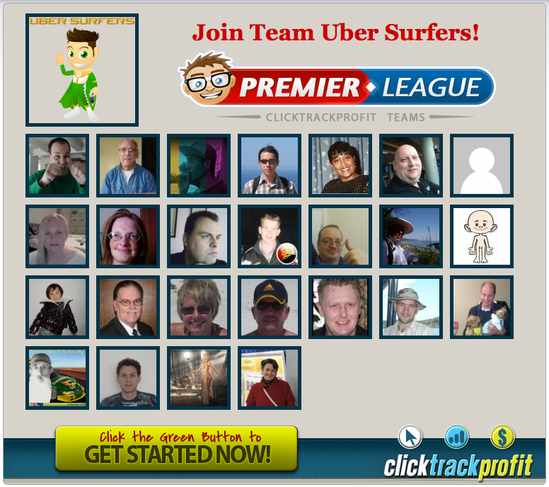 Uber Surfers Join A New Team splash page