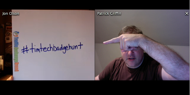 #TimTechBadgeHunt announced on TELive