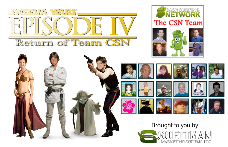 Return of Team CSN Splash Page