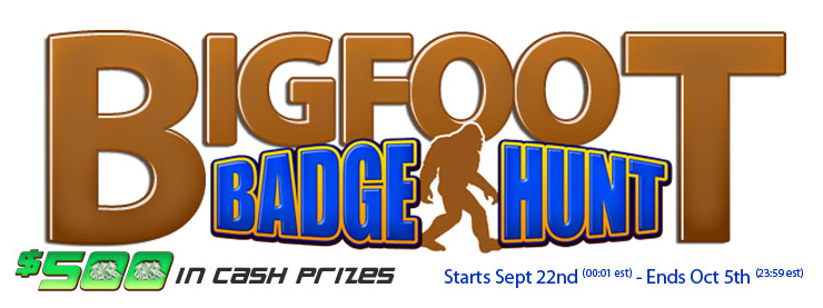 Bigfoot Badge Hunt new logo screenshot 1