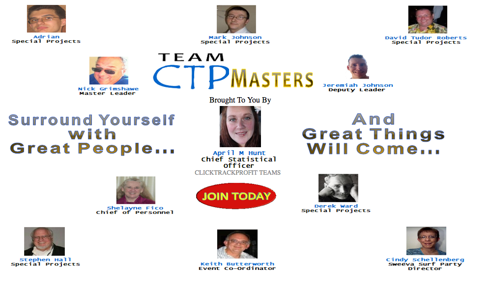 CTP Masters With April splash page