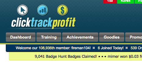 Bigfoot Badge Hunt badges awarded