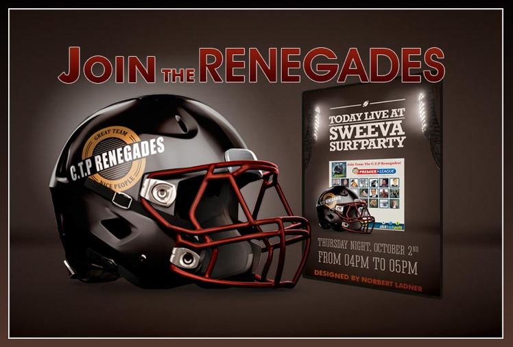 Join The Renegades Splash Page