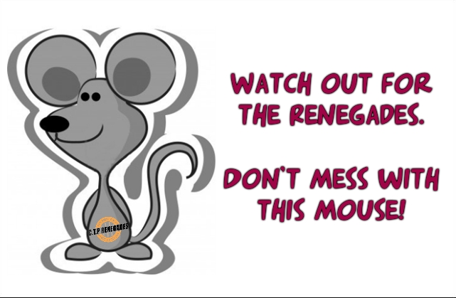 Don't Mess With The Mouse Renegades splash page