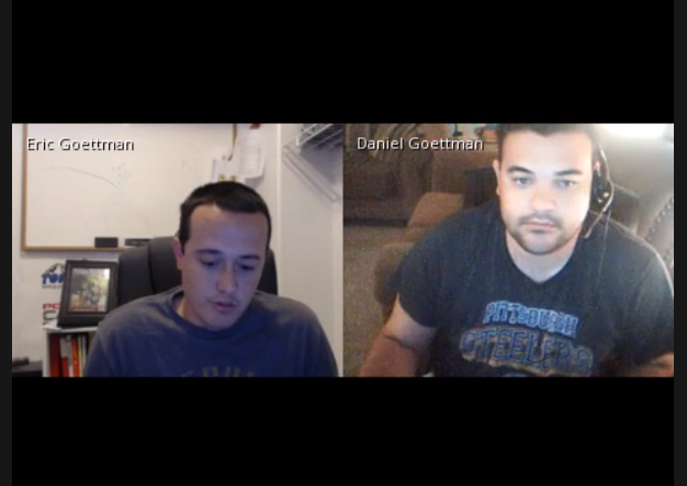 Eric and Daniel Goettman in first  live Monday Spreecast for LoL