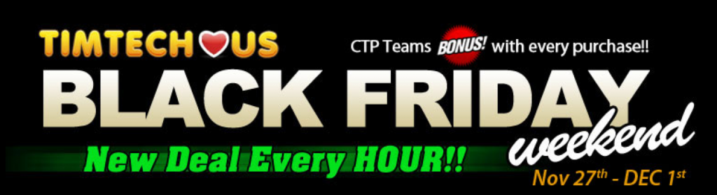 TimTech Black Friday 2014 logo