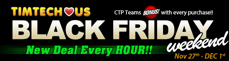 Tim Tech Black Friday 2014 banner