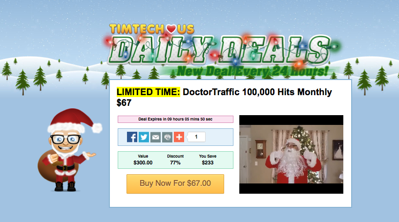 12 Days of Christmas 2014 - video offer pages