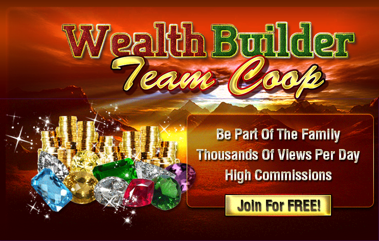 WealthBuilders team coop splash page for CTP Teams