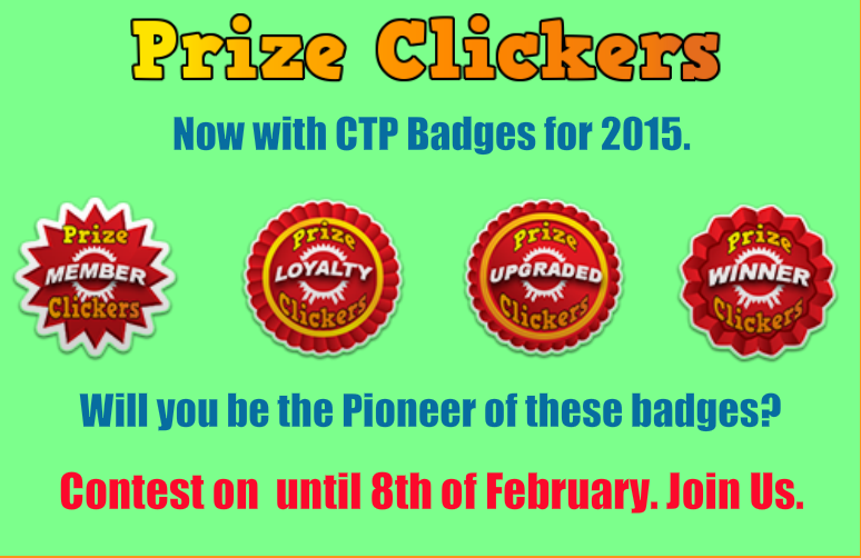 Prize Clickers Jan/Feb contest splash page