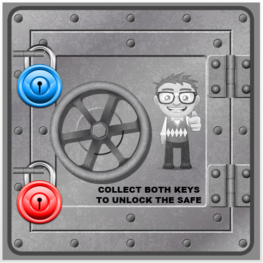 CTP Vault & Keys Game - The Silver Vault