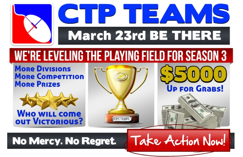 CTP Teams Season Three take action splash page