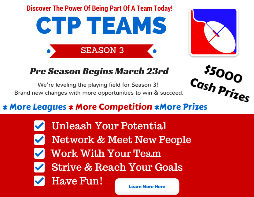 CTP Teams Season Three is coming splash page