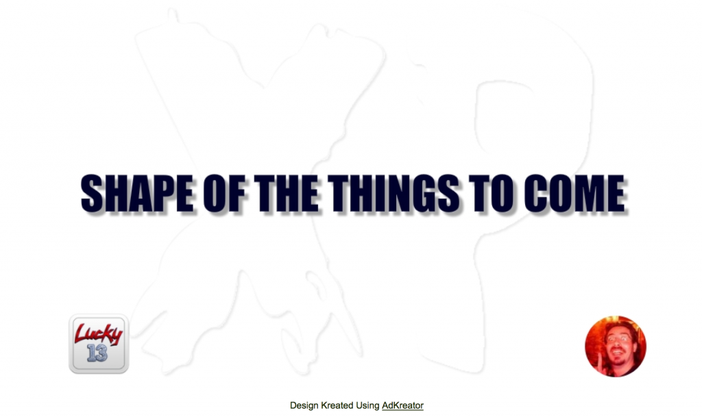 Shape of things splash page