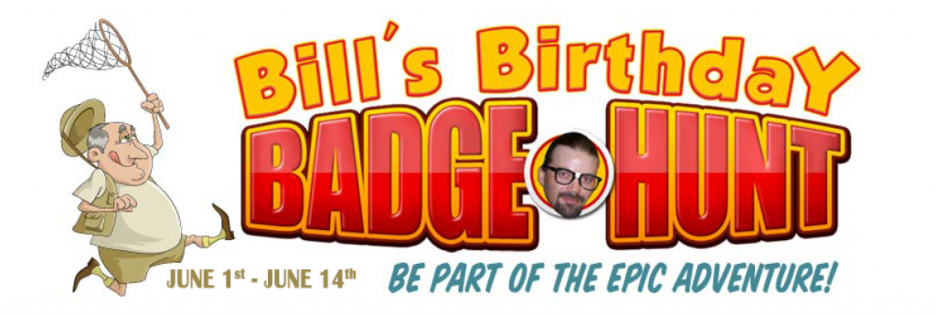 Bills Birthday Badge Hunt 2015