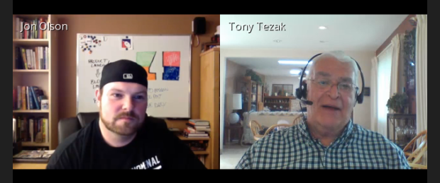 Jon Olson and Tony Tezak on TELive