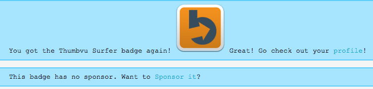 Now you can sponsor CTP badges right from the CTP badge claim page