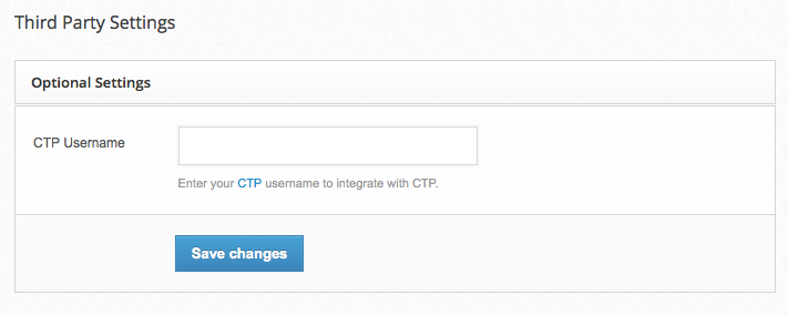 Integrate RocketResponder with CTP