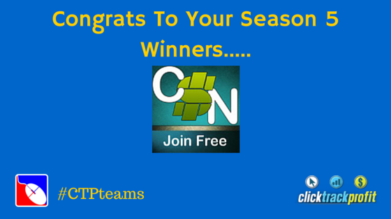 Congrats To Your Season 5 Winners.....